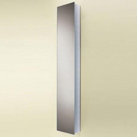 HIB Mercury Aluminium Mirror Cabinet - 43700 Large Image