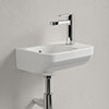 Villeroy and Boch Architectura 500 x 380mm 1TH Handwash Basin - 43735001 profile small image view 1