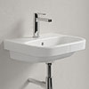 Villeroy and Boch Architectura 450 x 380mm 1TH Handwash Basin - 43734501 profile small image view 1