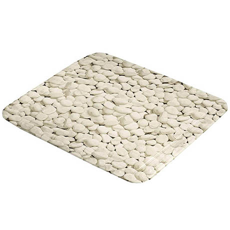 Kleine Wolke Stepstone PVC Shower Mat 550 x 550mm - Nature