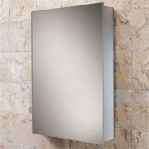 HIB Kore Aluminium Mirror Cabinet - 43900 Medium Image
