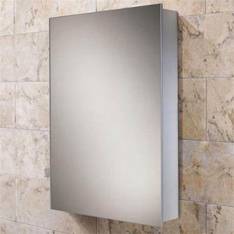 HIB Kore Aluminium Mirror Cabinet - 43900