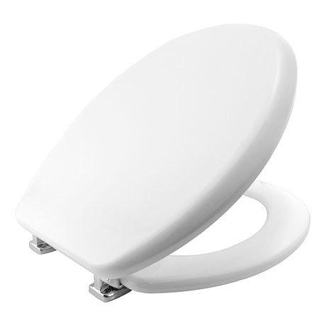 Bemis Vegas STA-TITE White Soft Close Toilet Seat