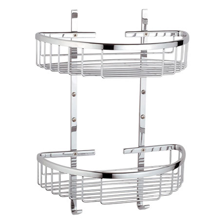 Vitra - Arkitekta Double Wall Basket - Chrome - 44053