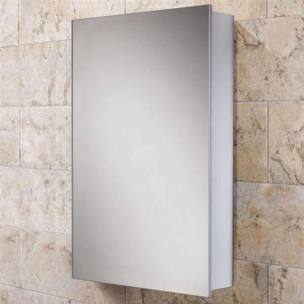 HIB Callisto Aluminium Mirror Cabinet - 44100 Large Image