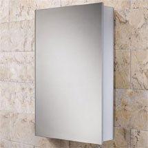 HIB Callisto Aluminium Mirror Cabinet - 44100 Medium Image