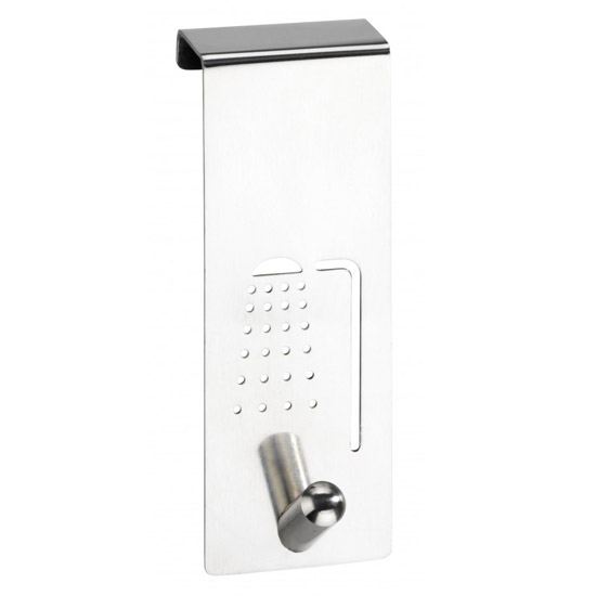 Wenko Shower Stainless Steel Door Hook - 4468070100 Large Image