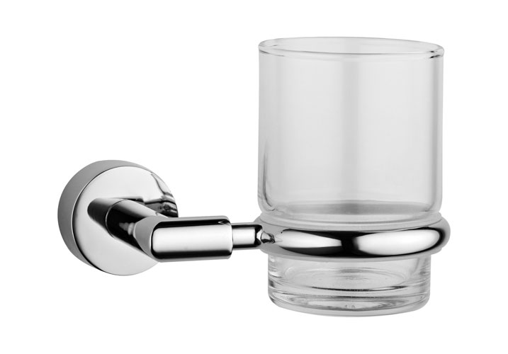 Vitra - Minimax Toothbrush Holder - Chrome - 44780 Large Image
