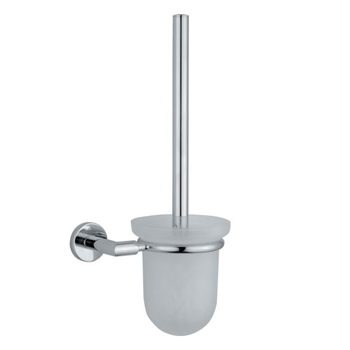 Vitra - Minimax Wall Mounted Toilet Brush Holder - Chrome - 44790 Large Image