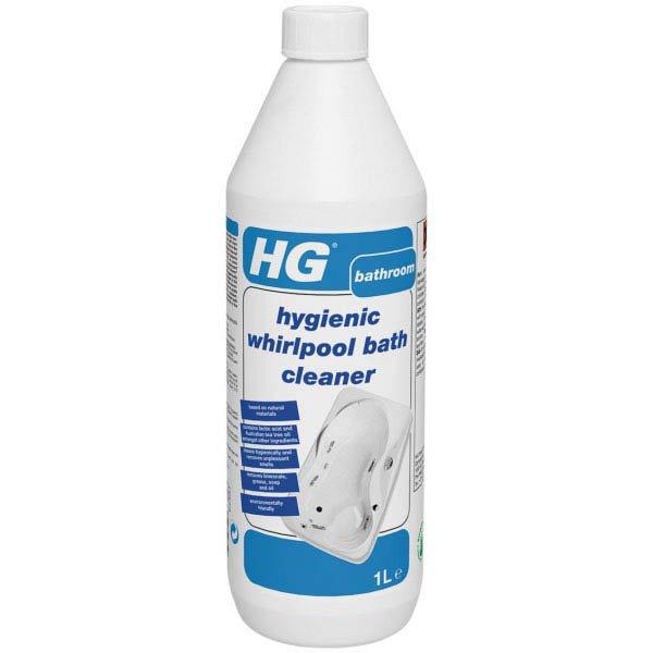 HG Hygienic Whirlpool Bath Cleaner 1L Large Image
