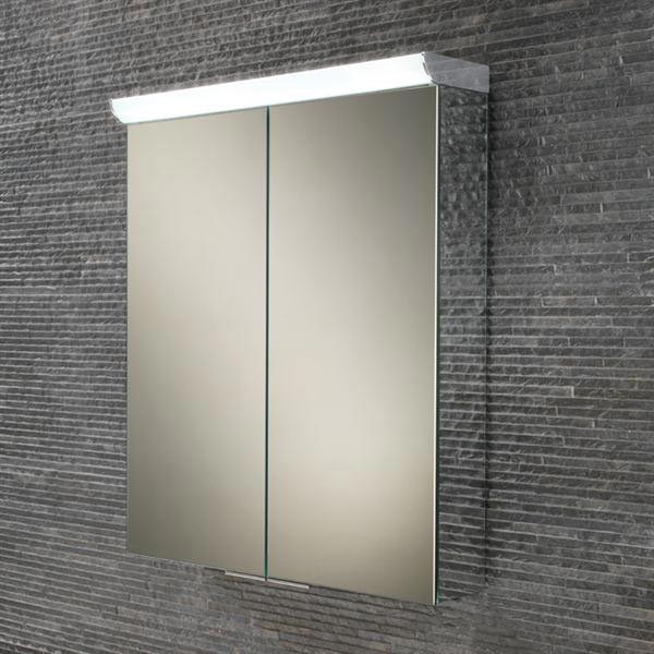 HIB Flare LED Mirror Cabinet - 44900 profile large image view 1