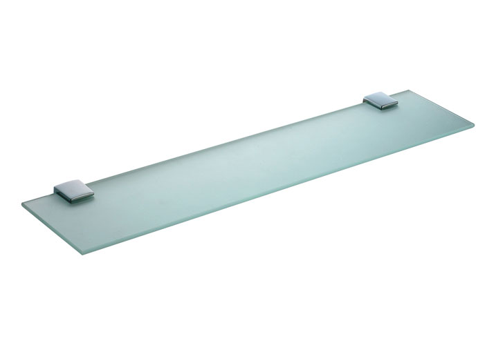 Vitra - Slope 60cm Glass Shelf - Chrome - 44975 Large Image