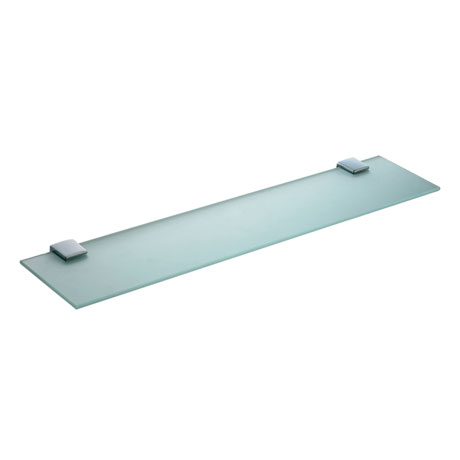 Vitra - Slope 60cm Glass Shelf - Chrome - 44975