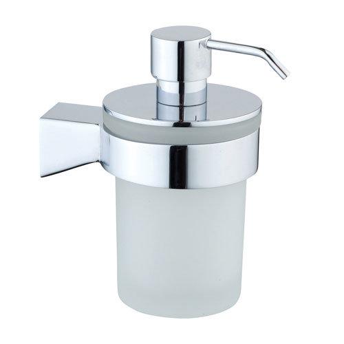 Vitra Slope Wall Mounted Liquid Soap Dispenser Chrome