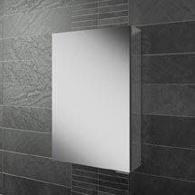 HIB Eris 40 Aluminium Mirror Cabinet - 45000 Medium Image