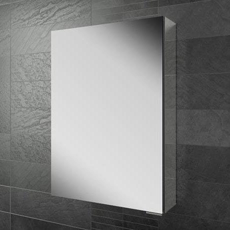 HIB Eris 50 Aluminium Mirror Cabinet - 45100 Large Image