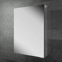 HIB Eris 50 Aluminium Mirror Cabinet - 45100 Medium Image