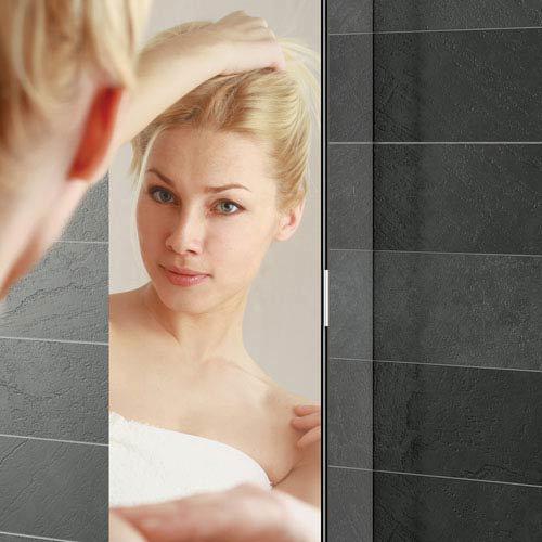 HIB Eris 30 Aluminium Mirror Cabinet - 45300  Profile Large Image