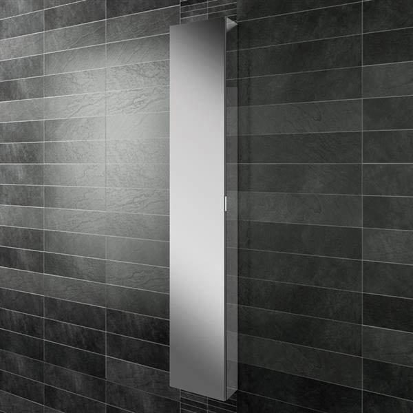 HIB Eris 30 Aluminium Mirror Cabinet - 45300 Large Image