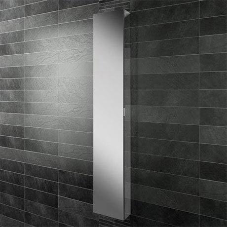 HIB Eris 30 Aluminium Mirror Cabinet - 45300