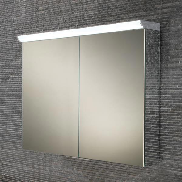 HIB Ember 80 LED Mirror Cabinet - 45400 Large Image