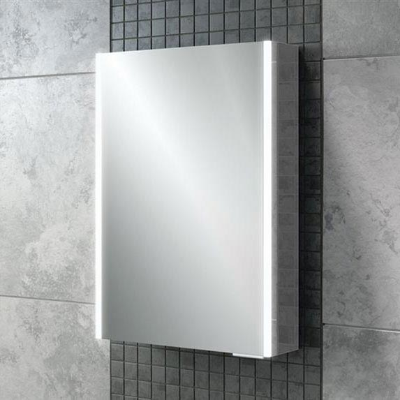 HIB Xenon 50 LED Mirror Cabinet - 46000 profile large image view 1