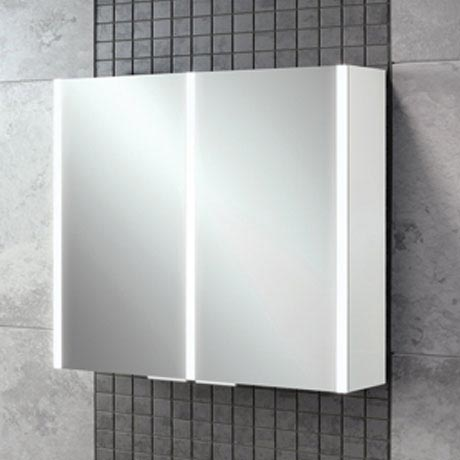 HIB Xenon 80 LED Mirror Cabinet - 46200 profile large image view 4