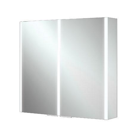 HIB Xenon 80 LED Mirror Cabinet - 46200