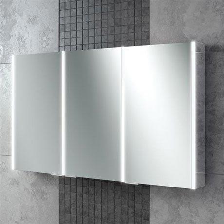 HIB Xenon 120 LED Mirror Cabinet - 46300