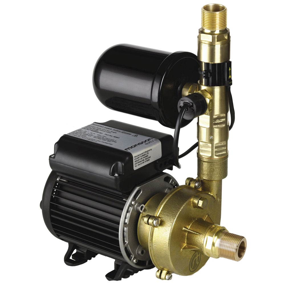 Stuart Turner Monsoon Extra Universal 1.4 Bar Single Water Boosting Pump Large Image