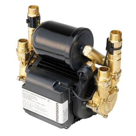 Stuart Turner Monsoon Universal Twin Shower Pump