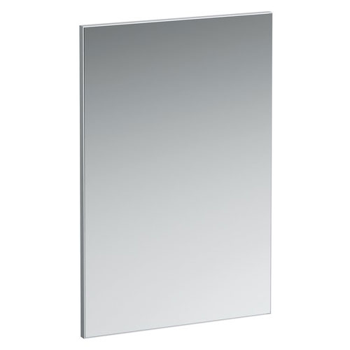 Laufen - Frame 25 Vertical Mirror with Aluminium Frame - 550 x 825mm Large Image