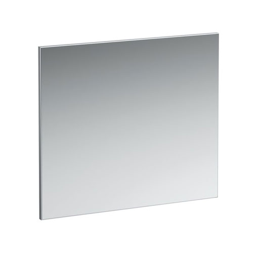 Laufen - Frame 25 Horizontal Mirror with Aluminium Frame - 800 x 700mm