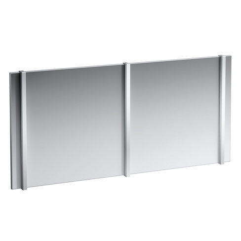 Laufen - Frame 25 Vertical 700mm LED Mirror Light profile large image view 2