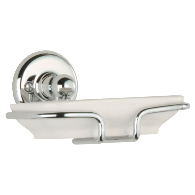 Roper Rhodes Avening Ceramic Soap Dish & Holder - 4914.02 profile large image view 1