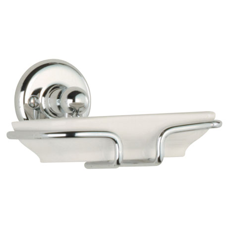 Roper Rhodes Avening Ceramic Soap Dish & Holder - 4914.02
