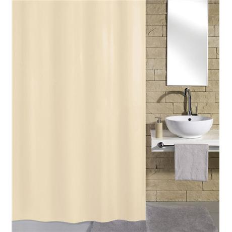 Kleine Wolke Kito Polyester Shower Curtain - W2400 x H1800 - Nature - 4937-202-352
