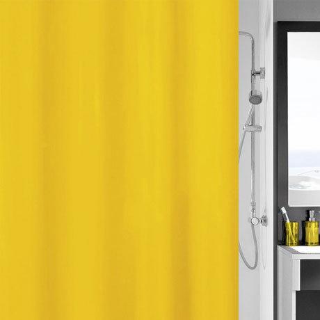 Kleine Wolke Kito Polyester Shower Curtain - W1800 x H2000 - Sunshine - 4937-568-305