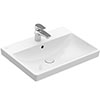 Villeroy and Boch Avento 600 x 470mm 1TH Basin - 41586001 profile small image view 1