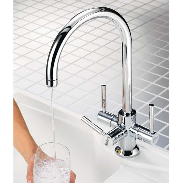 Francis Pegler 3 Way Ceto BRITA Filter Tap - Chrome Plated - 4B8020 Large Image