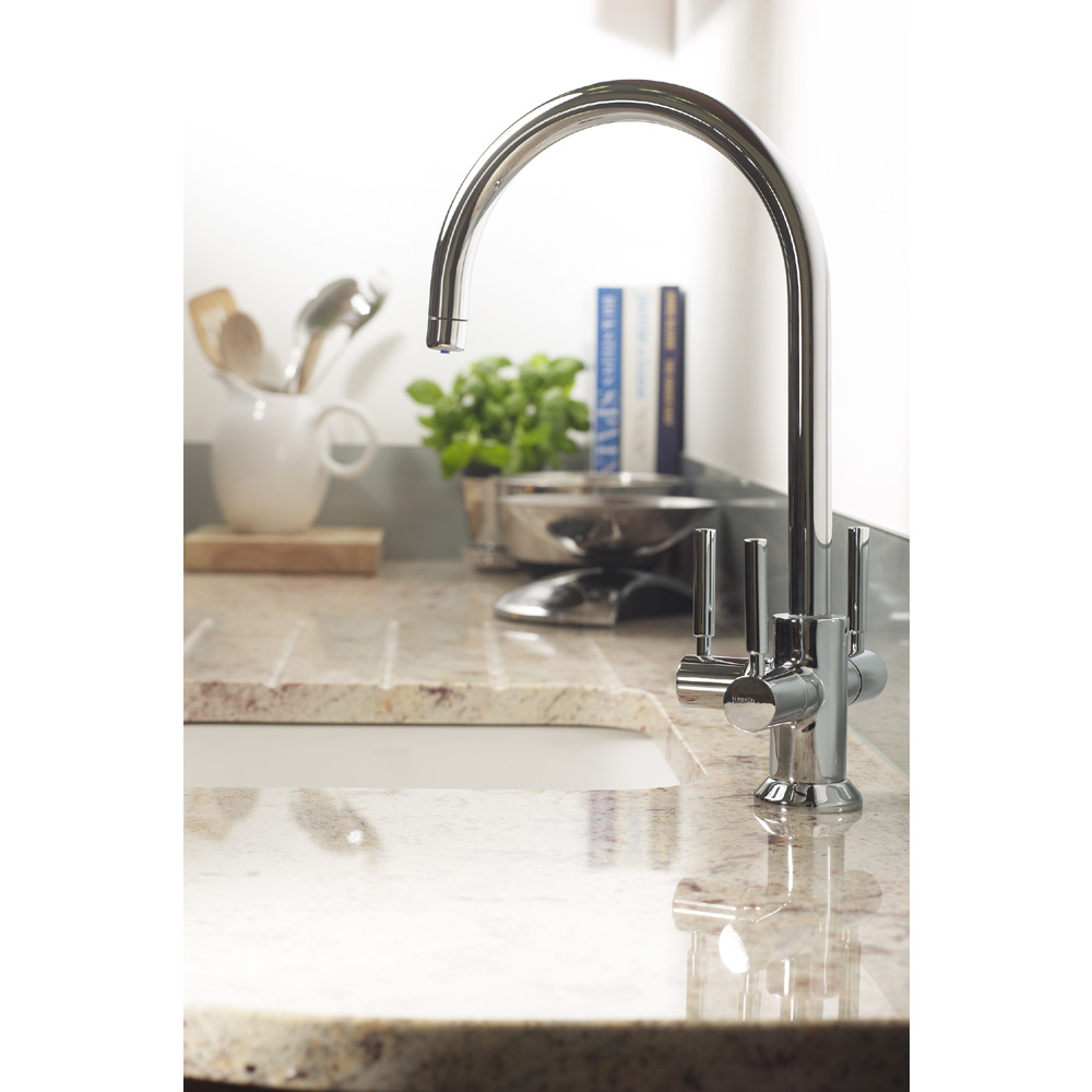 Francis Pegler 3 Way Ceto BRITA Filter Tap - Chrome Plated - 4B8020 profile large image view 4