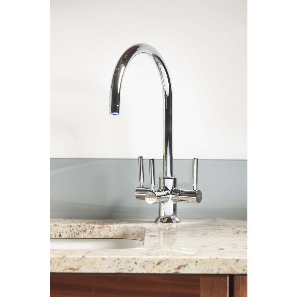 Francis Pegler 3 Way Ceto BRITA Filter Tap - Chrome Plated - 4B8020 profile large image view 5