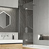 KUDOS Inspire 8mm Two Panel In-Fold Bathscreen profile small image view 1