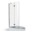 KUDOS Inspire 6mm Two Panel In-Fold Bathscreen profile small image view 1