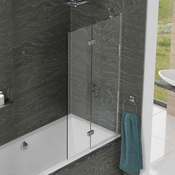 KUDOS Inspire 8mm Two Panel In-Fold Bathscreen  Feature Large Image