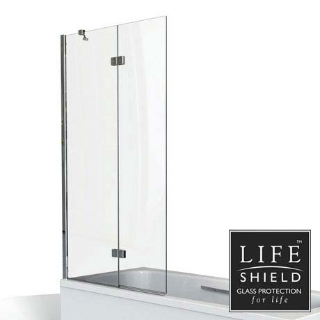 KUDOS Inspire 8mm Two Panel In-Fold Bathscreen