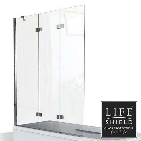 KUDOS Inspire 6mm Three Panel In Fold Bathscreen