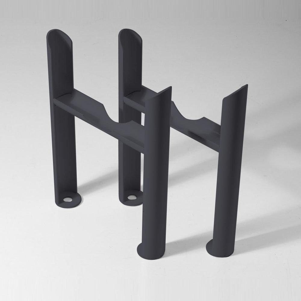 Keswick Anthracite 4 Column Radiator Feet