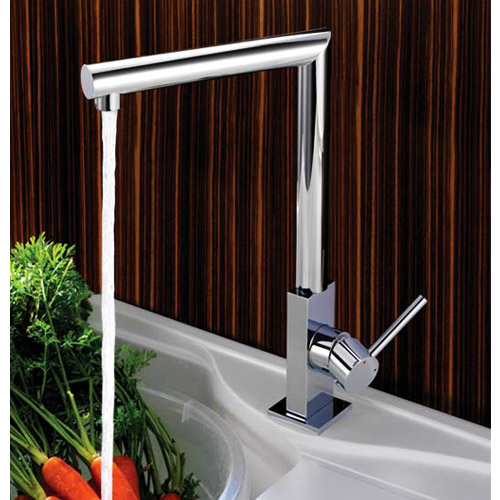 Francis Pegler Konik Single Lever Monobloc Sink Mixer - 4G3065 Profile Large Image