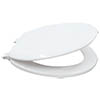 Bemis White Wooden Quick Release Soft Closing Seat - 5000AEL000 profile small image view 1